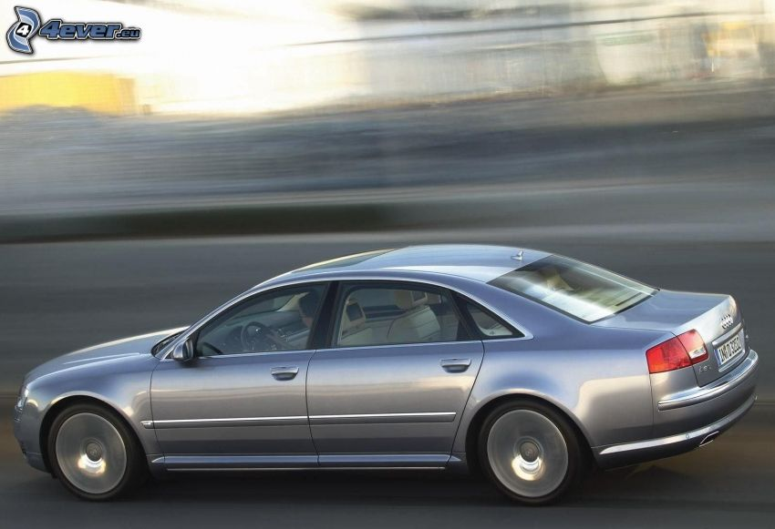 Audi A8, speed