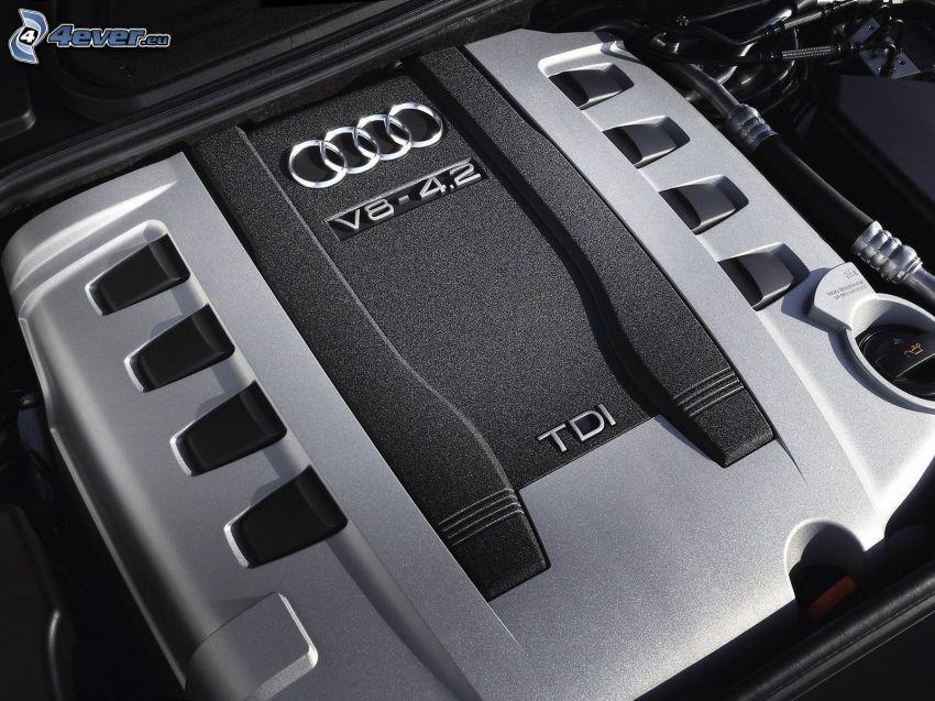 Audi A8, V8 4.2, engine