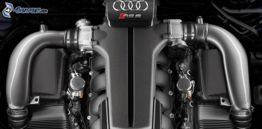 Audi RS6, engine
