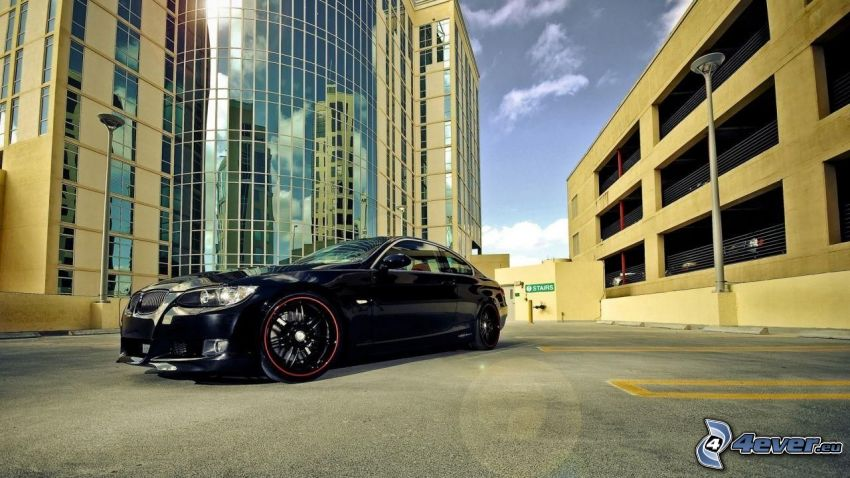 BMW, buildings