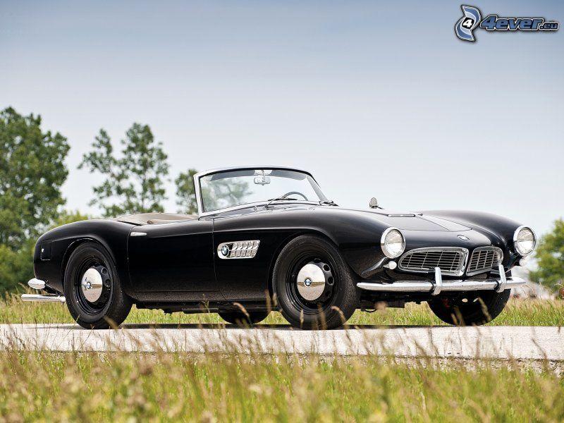 BMW, oldtimer, convertible