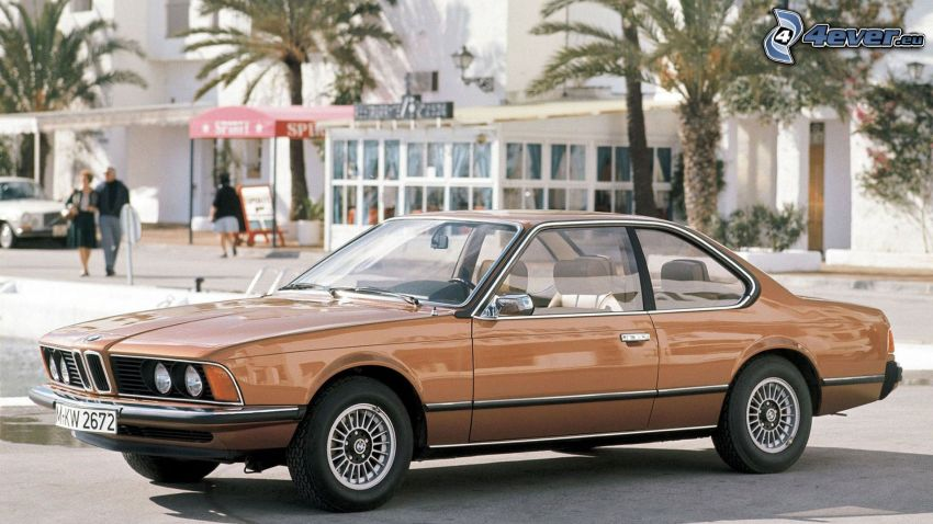 BMW 6 Series, oldtimer