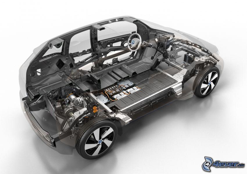 BMW i3, construction