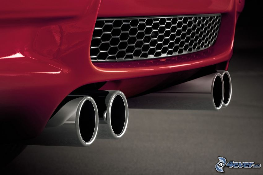 BMW M3, exhaust
