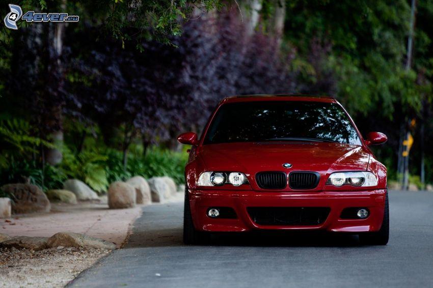 BMW M3, road