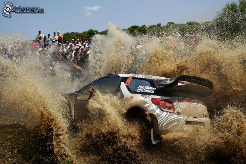 Citroën DS3, mud