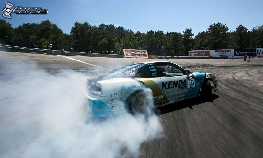 drifting, smoke
