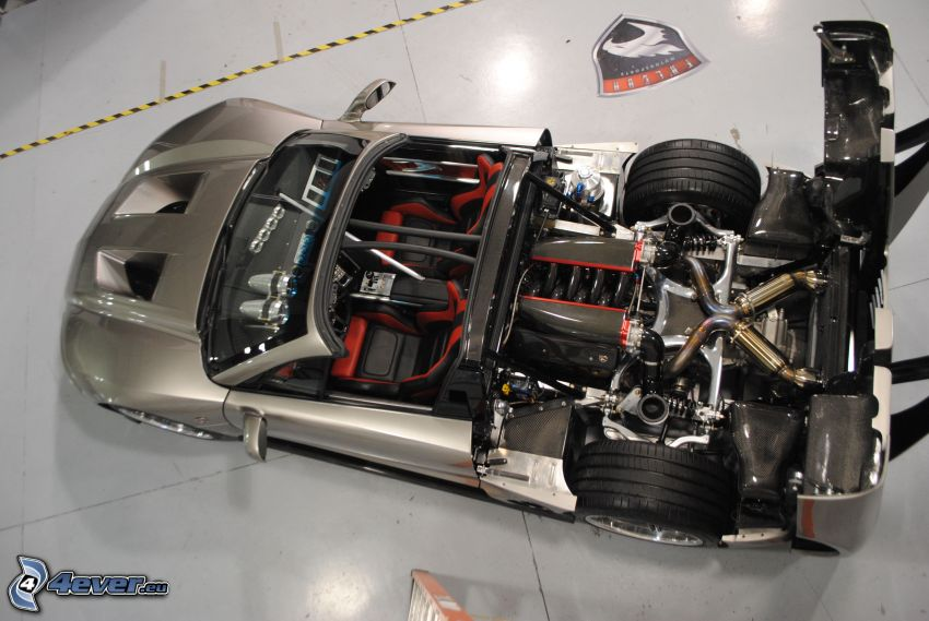 Falcon F7, engine