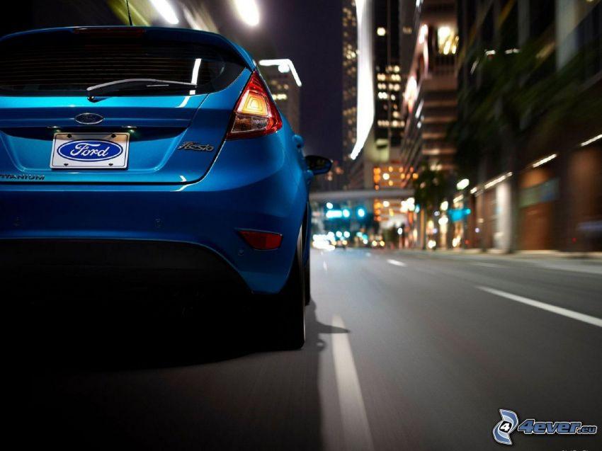 Ford Fiesta RS, street, road