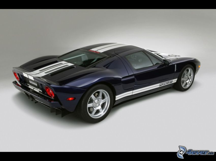Ford GT40, blue