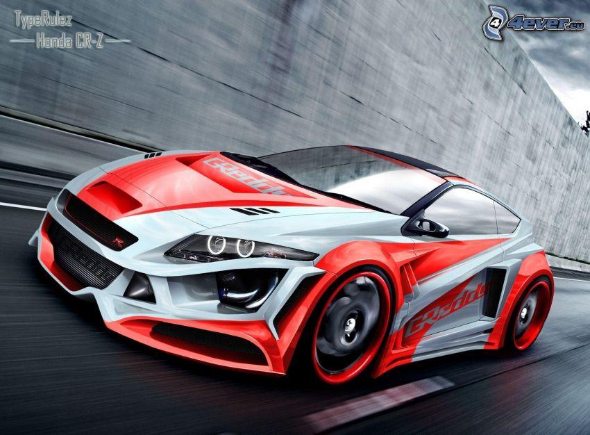 Honda, speed