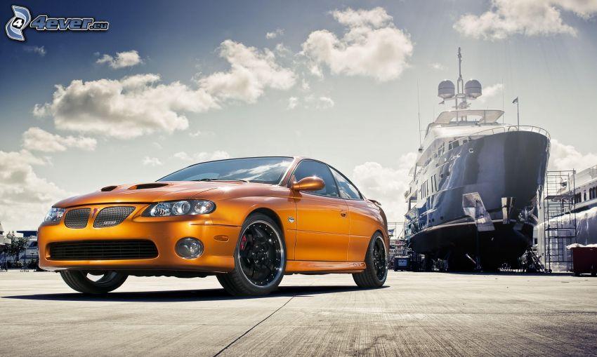 Honda NSX, ship