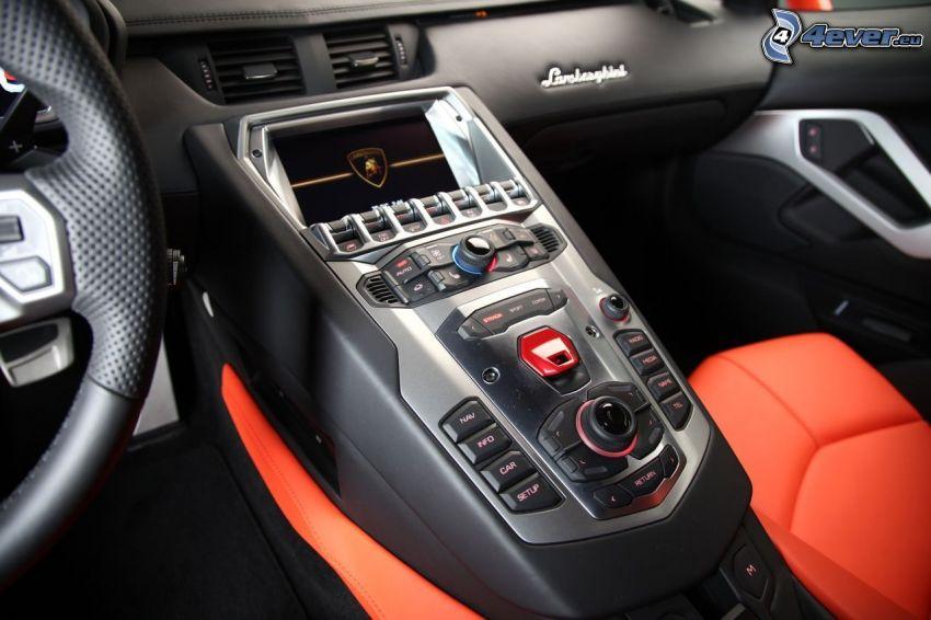 Interior Lamborghini Aventador