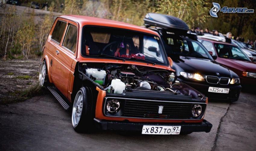 Lada, engine, oldtimer