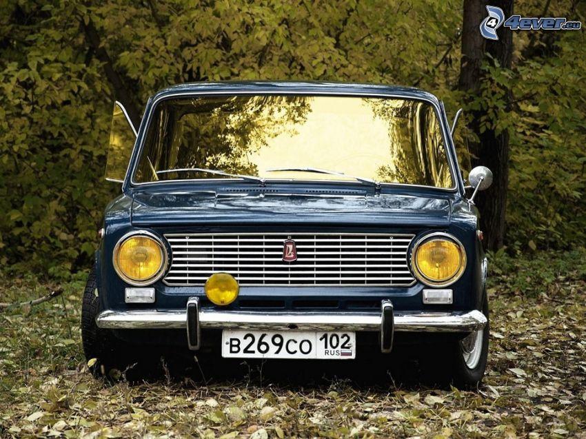 Lada, oldtimer, front grille