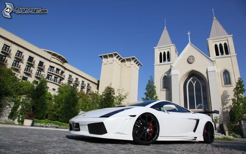 Lamborghini, church