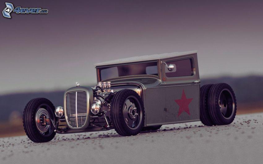 matchbox car, oldtimer