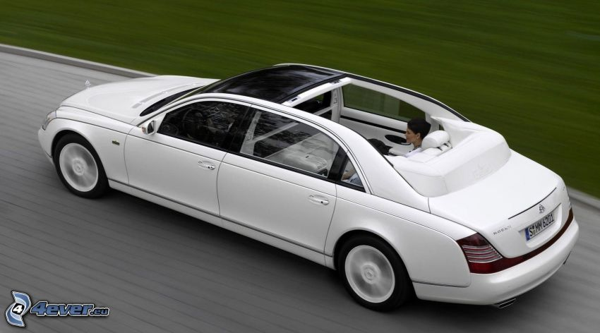 Maybach, convertible, speed