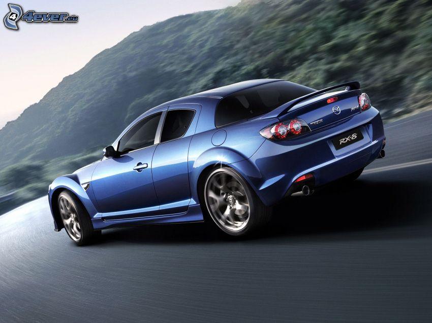 Mazda RX8, speed