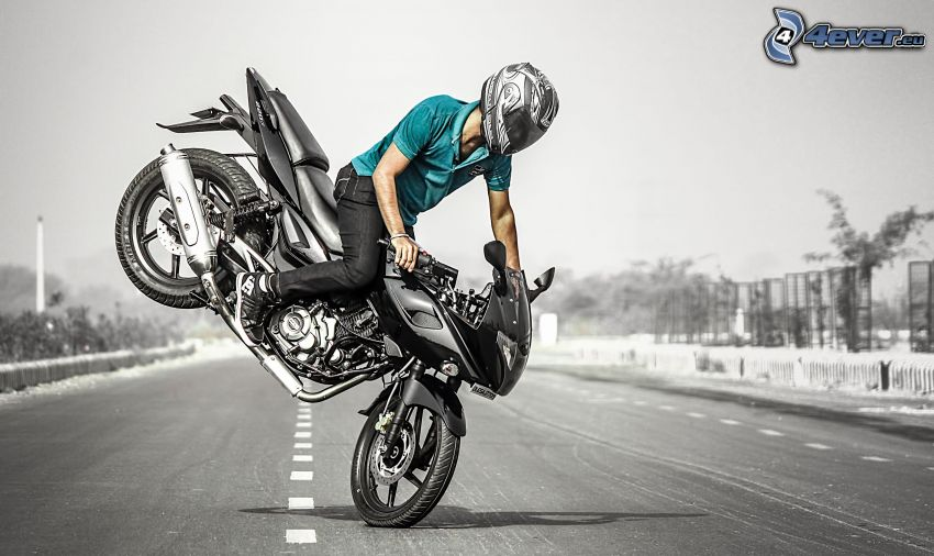acrobatics, moto-biker, motocycle