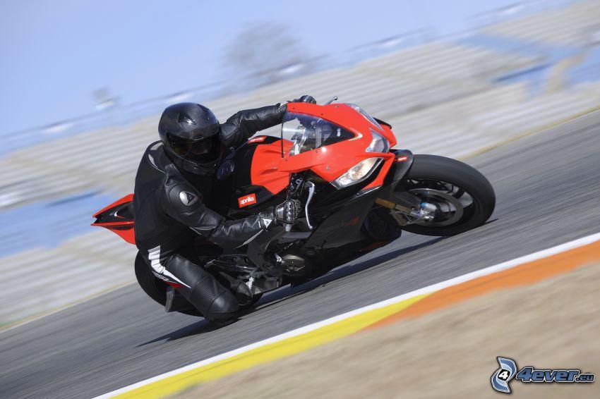 Aprilia RS4 125, speed