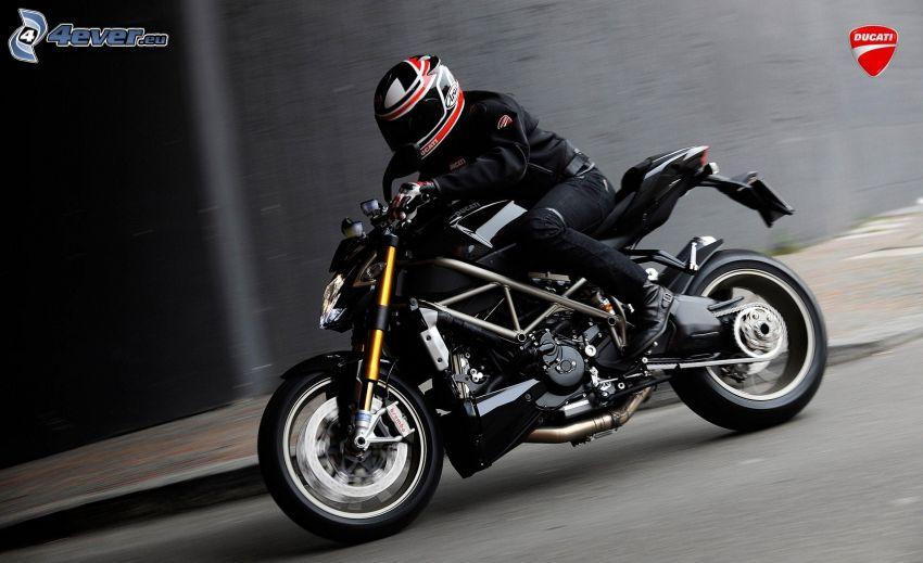 Ducati, moto-biker, speed
