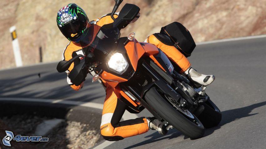 KTM 990 SMT, moto-biker, road