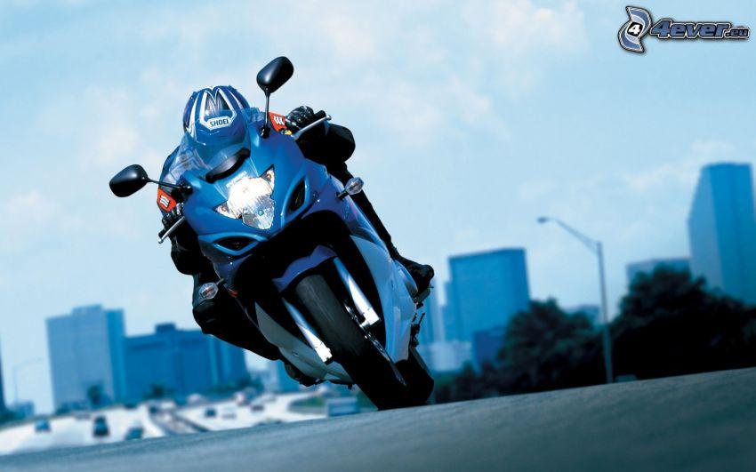 Suzuki, moto-biker