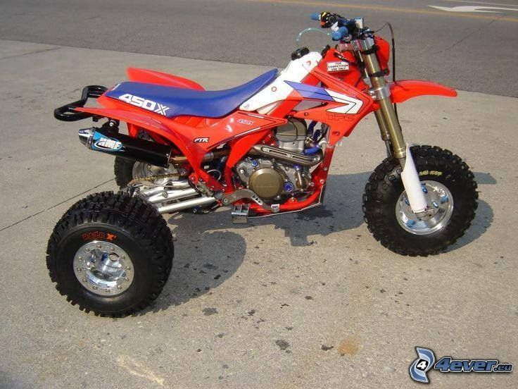 TPC 450, tricycle