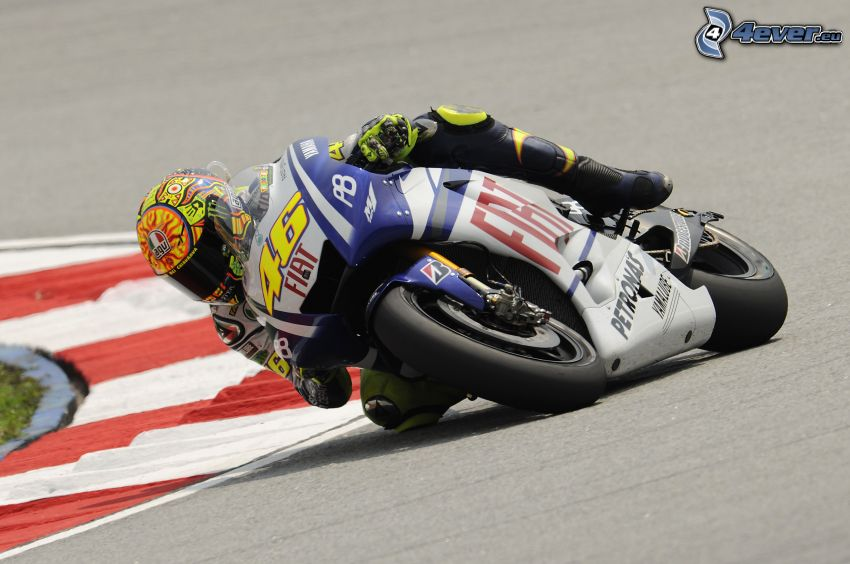 Valentino Rossi, racer, Fiat, racing circuit