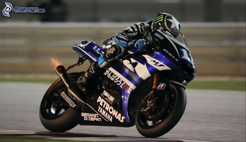 Yamaha, moto-biker, speed