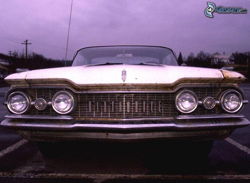 Oldsmobile, oldtimer, front grille