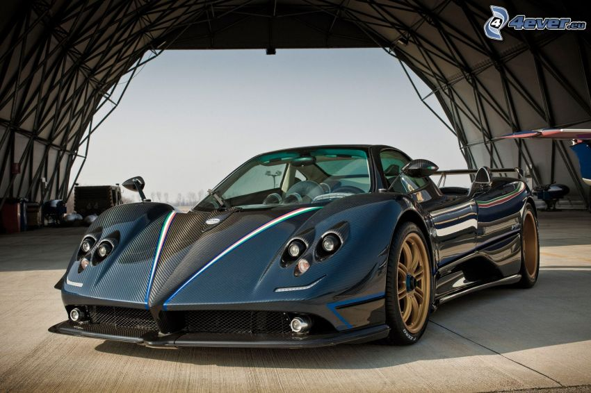 Pagani Zonda, convertible, sports car