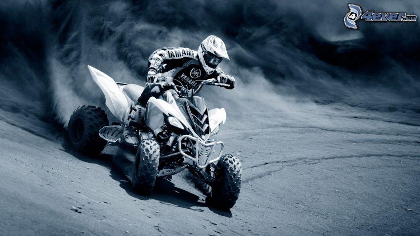 quad, drifting