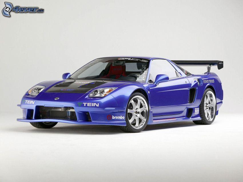 Acura NSX, racing car