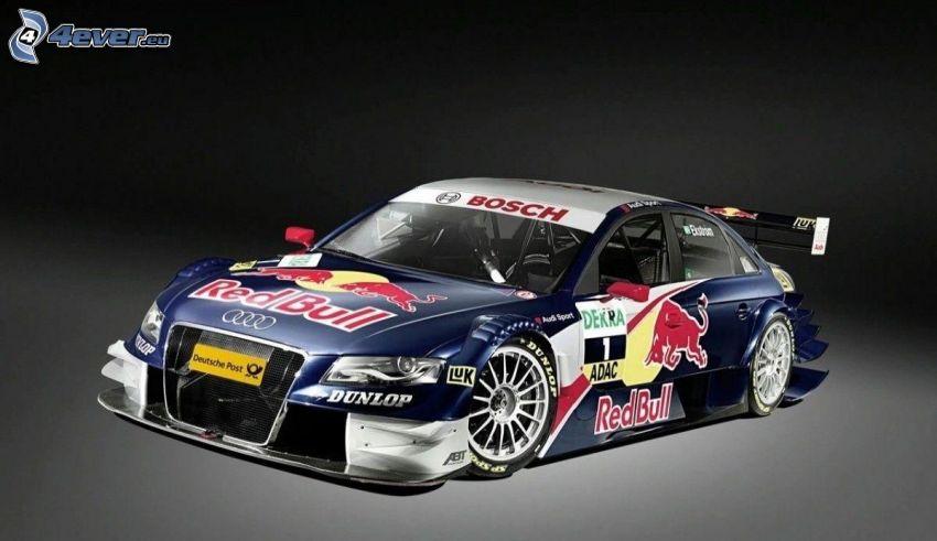 Audi A4, lowrider, racing car