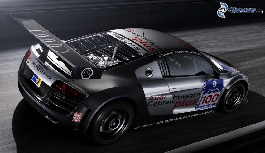 Audi R8, speed