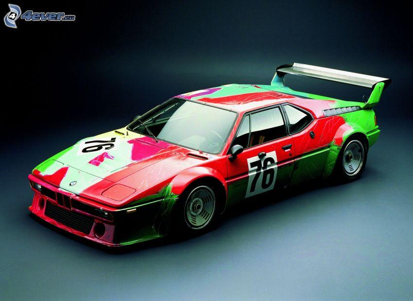BMW, racing car, oldtimer