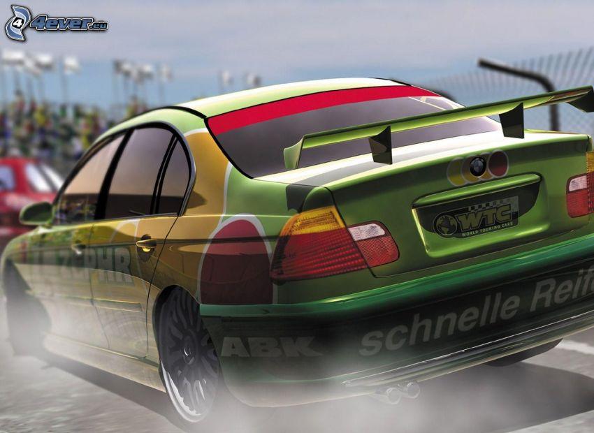 BMW, racing car
