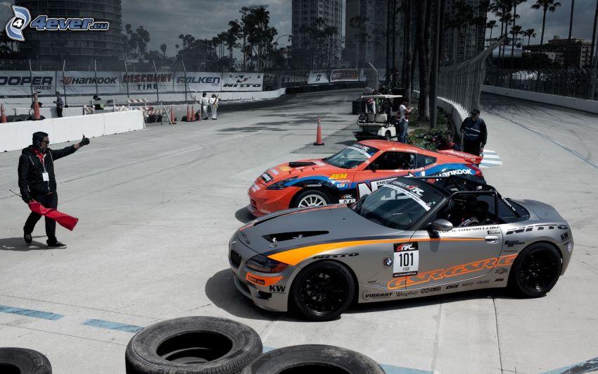 BMW Z4, race