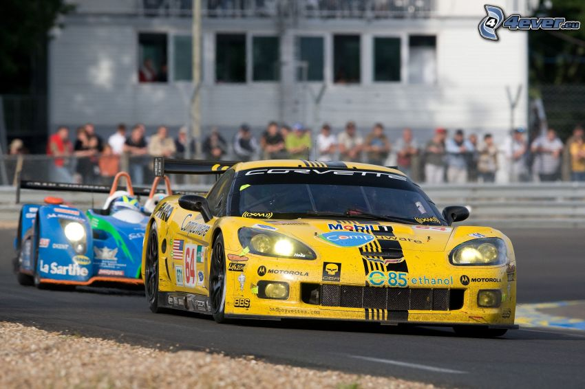 Chevrolet Corvette C6.R GT1, racing car