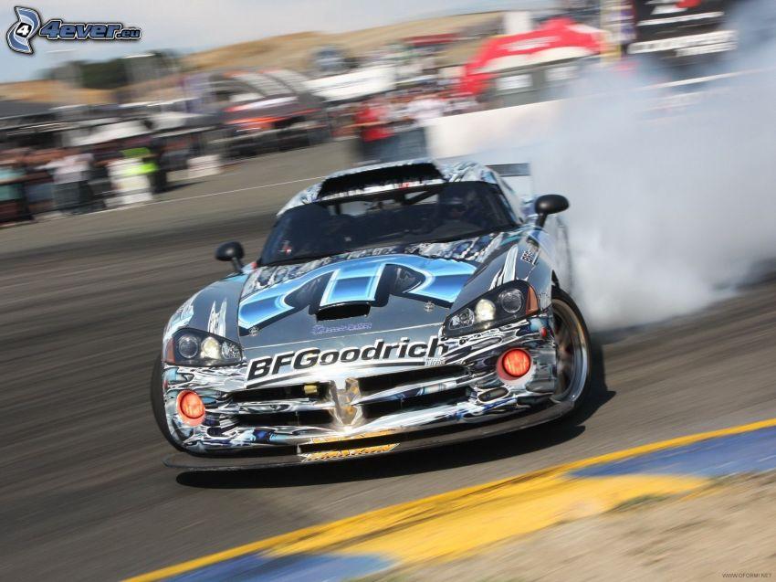 Dodge Viper, drifting