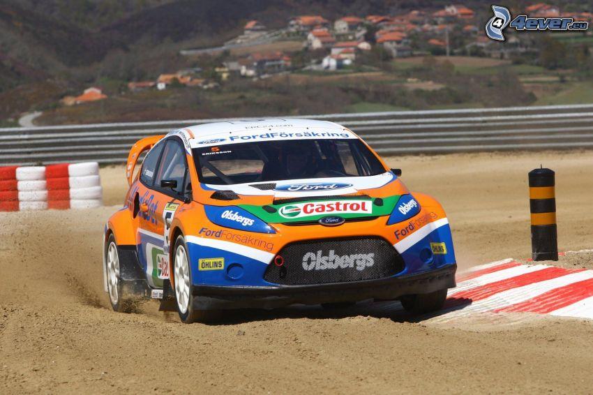 Ford Fiesta RS, rally, racing circuit