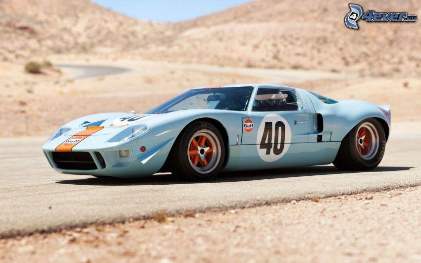 Ford GT40, oldtimer, racing car