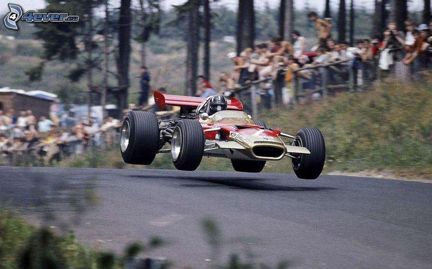 formula, jump, speed, race, spectators