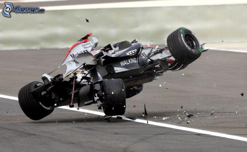 Formula One, accident