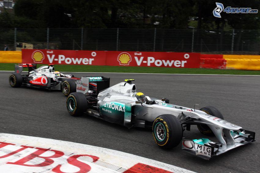 Formula One, racing circuit