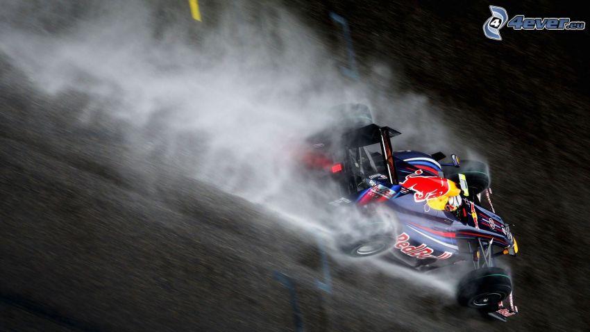 Formula One, smoke