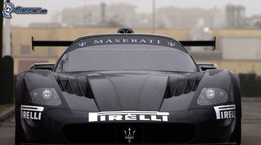 Maserati, racing car
