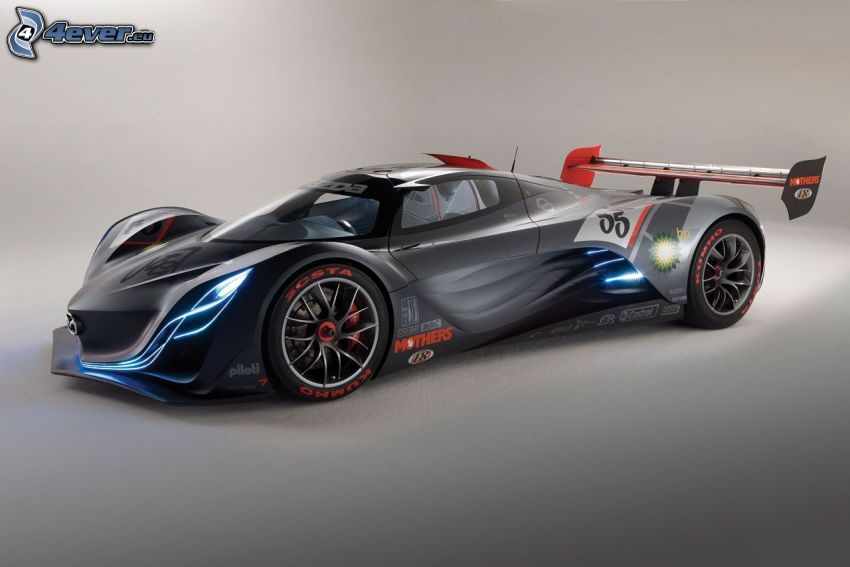 Mazda Furai, concept, racing car